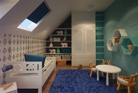 decoration chambre mansardee garcon une chambre enfants sous les combles id 233 es d am 233 nagement et de d 233 co