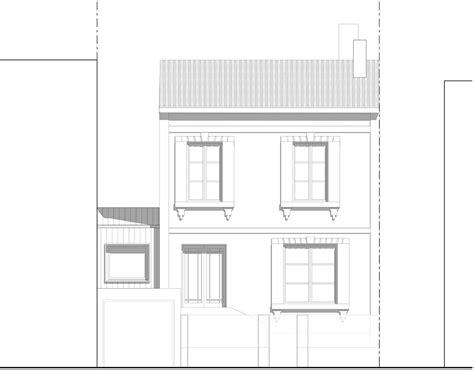 chambre albi extension et surélévation d une maison de ville pa