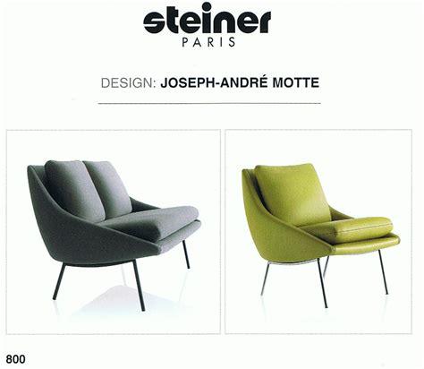 canapes steiner steiner fauteuil et canape 800 siege meubles design