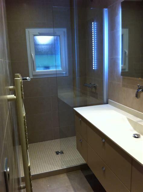 plan de salle de bain avec italienne salle de bains tons beige
