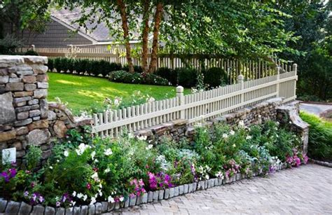 landscaping fences 25 beautiful fence designs to improve and accentuate yard