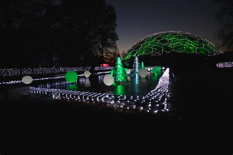 garden glow at the missouri botanical garden the south s