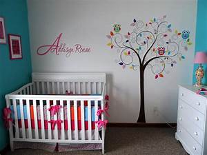 Girl Nursery Themes Wall : 12 New Girl Nursery Themes