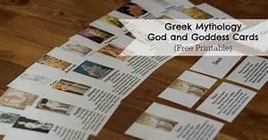 Greek Mythology God And Goddess Cards
