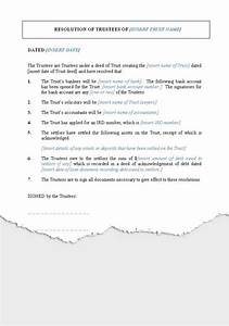 wills trusts trusts new zealand legal documents With trust minutes template