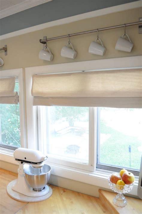 Large Kitchen Window Treatment Ideas by 1000 Ideas About Kitchen Window Treatments On