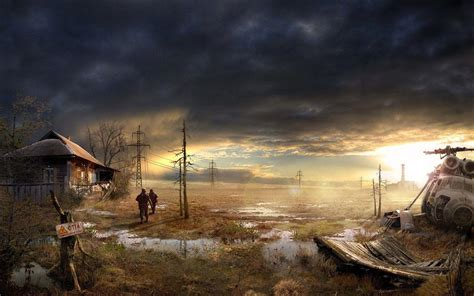 Post Apocalyptic Background Post Apocalyptic Wallpapers Wallpaper Cave