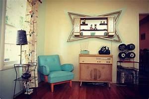 Vintage Deko Wohnzimmer : einrichtungsideen wohnzimmer retro ~ Markanthonyermac.com Haus und Dekorationen