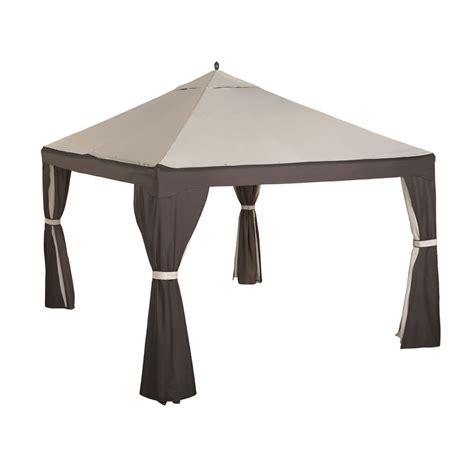 lowe s gazebo replacement canopy garden winds canada