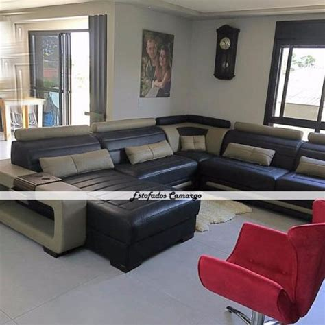 sofa sob medida couro sof 225 de couro natural leg 237 timo fabricamos sob medida