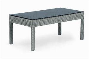 Table Basse Resine Tressee : salon de jardin en r sine tress e et aluminium brin d 39 ouest ~ Teatrodelosmanantiales.com Idées de Décoration