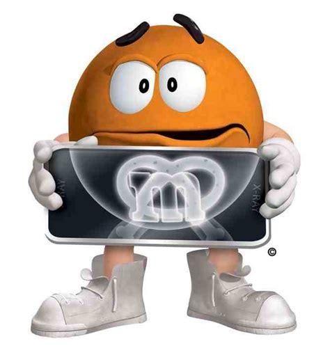 however the pretzel orange m m character chocolate wiki