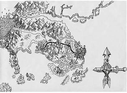 Drawn Maps Mine Map Submitting Saw Lot