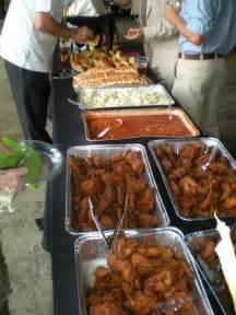 home southern wedding buffet dpmc wedding