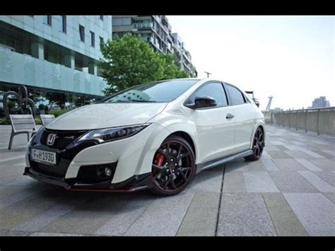 Honda Civic Ix Type R 2015 Youtube