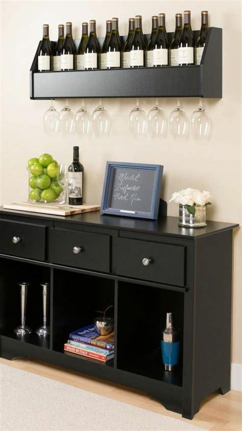 Weinlagerung Wohnzimmer Ideen Schwarze Möbel  Ideen Für