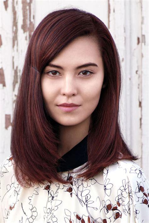 haare mit roten strähnen bilder rote haare farbtrends und frisuren