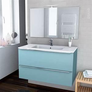meuble salle de bain bleu 2017 et chambre salle de bain With salle de bain bleu petrole