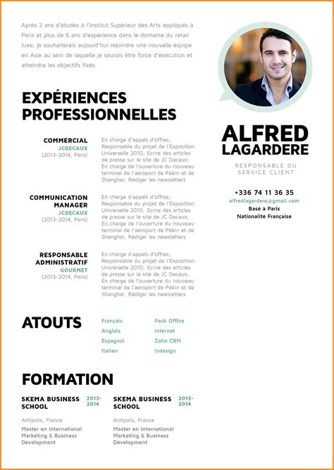 Comment Faire Un Bon Cv Exemple by Exemple De Cv De Commercial Laboite Cv Fr