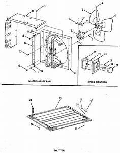Emerson Model Wh24fm0 Whole House Fan Genuine Parts
