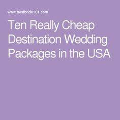 1000 ideas about affordable wedding packages on pinterest for Affordable wedding packages in vegas