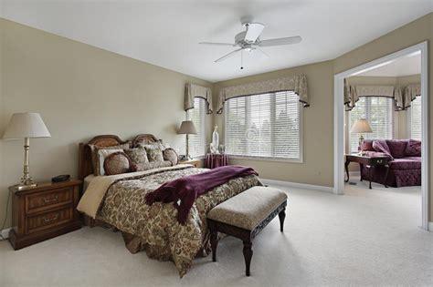 master bedroom  adjacent sitting room stock image image  bedroom decor