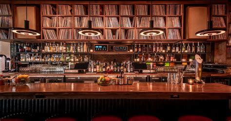Bar Images highland park s new gold line bar is a moody lover s