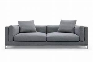 canape design contemporain vaasa svellson With canape 3 places h h