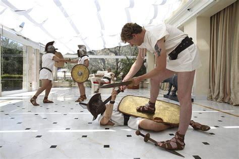 waldorf astoria rome cavalieri gladiator lesson