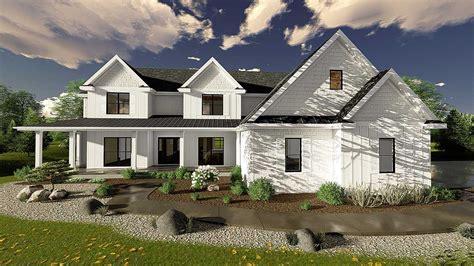 bedroom modern farmhouse plan dj architectural