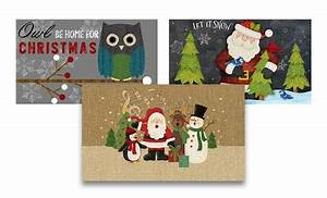 Eco Friendly Christmas Doormats