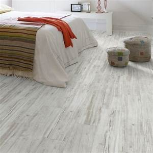 gerflor senso lock 20 quot0675 wood 2 bois blancquot luxury With parquet pvc clipsable gerflor