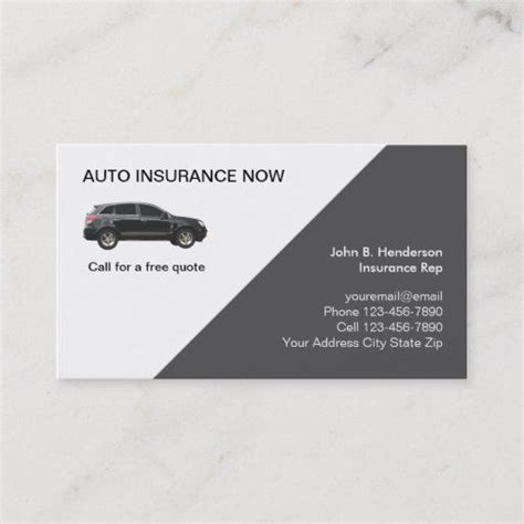 Getting cheap insurance quotes by zip code on auto coverage is the first thing you should to do getting response on quote requests withing 24 hours. Auto Insurance Business Cards   Zazzle.com   Car insurance, Insurance quotes, Business