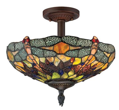 Menards Flush Ceiling Lights by Patriot Lighting 174 Home Dragonfly 14 Quot Russet 2