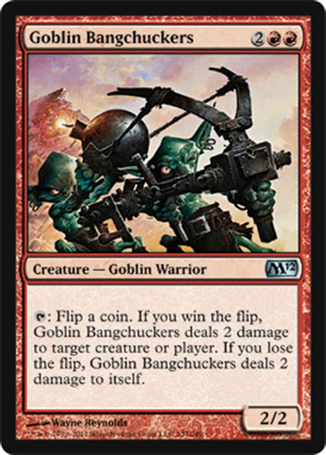 goblin commander deck m12 spoiler goblin bangchuckers commander edh decks