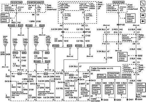2003 Chevy 2500 Wiring Diagram by 2003 Chev 2500 Hd Left Trailer Brake Light Does Not Work
