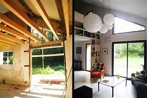 Maison Traditionnelle Rnove En Maison D Architecte