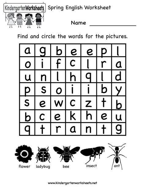 worksheets for kindergarten worksheet mogenk