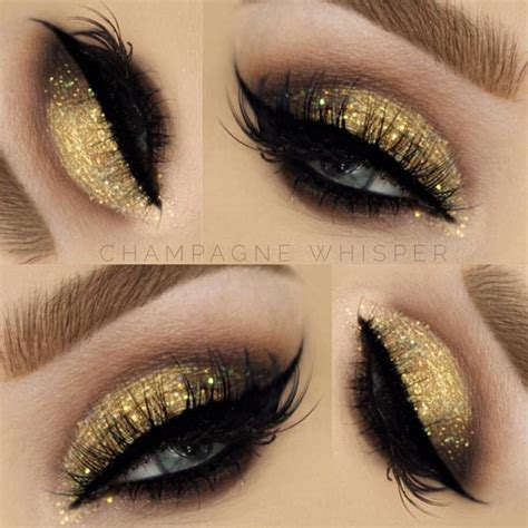 gold smokey eye makeup  makeupjournalcom