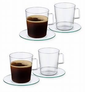 Teetassen Aus Glas : haushaltswaren 8tlg set teetassen kaffeetassen von simax ~ Buech-reservation.com Haus und Dekorationen