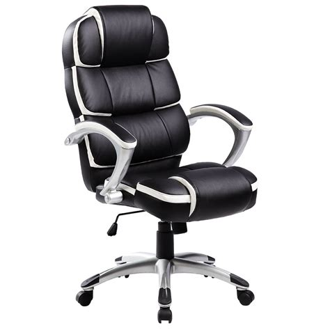 computer desk chair luxury designer computer office chair black with white