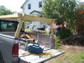 homemade truck rack quick release ladder rack