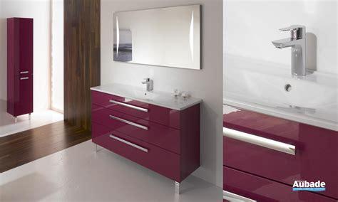 salle de bain burgbad meuble salle de bains fuchsia brillant essento espace aubade