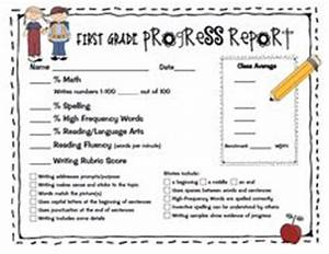 1000 images about progress reports on pinterest second With first grade progress report template