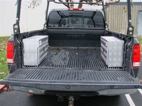 Awesome Tms 2~aluminum Truck Pickup Trailer Rv Tool Box
