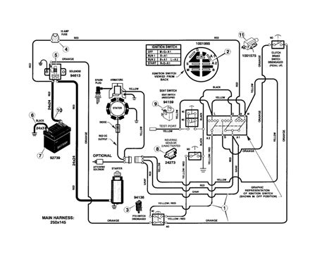 Huskee Mower Electrical Diagram by Wiring Diagram For Husqvarna Mower Free Wiring Diagram