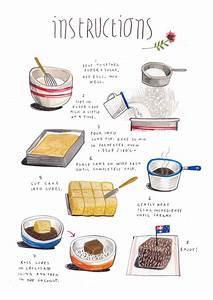 Felicita Sala Illustration  Illustrated Recipes  April