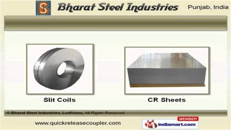 hr cr sheets by bharat steel industries ludhiana