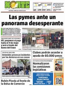 Peri U00f3dico Diario Norte  Argentina   Peri U00f3dicos De Argentina  Edici U00f3n De Mi U00e9rcoles  6 De Mayo De