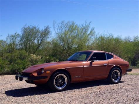 Purchase Used 1976 Datsun Nissan 280z Factory Ac Air Low